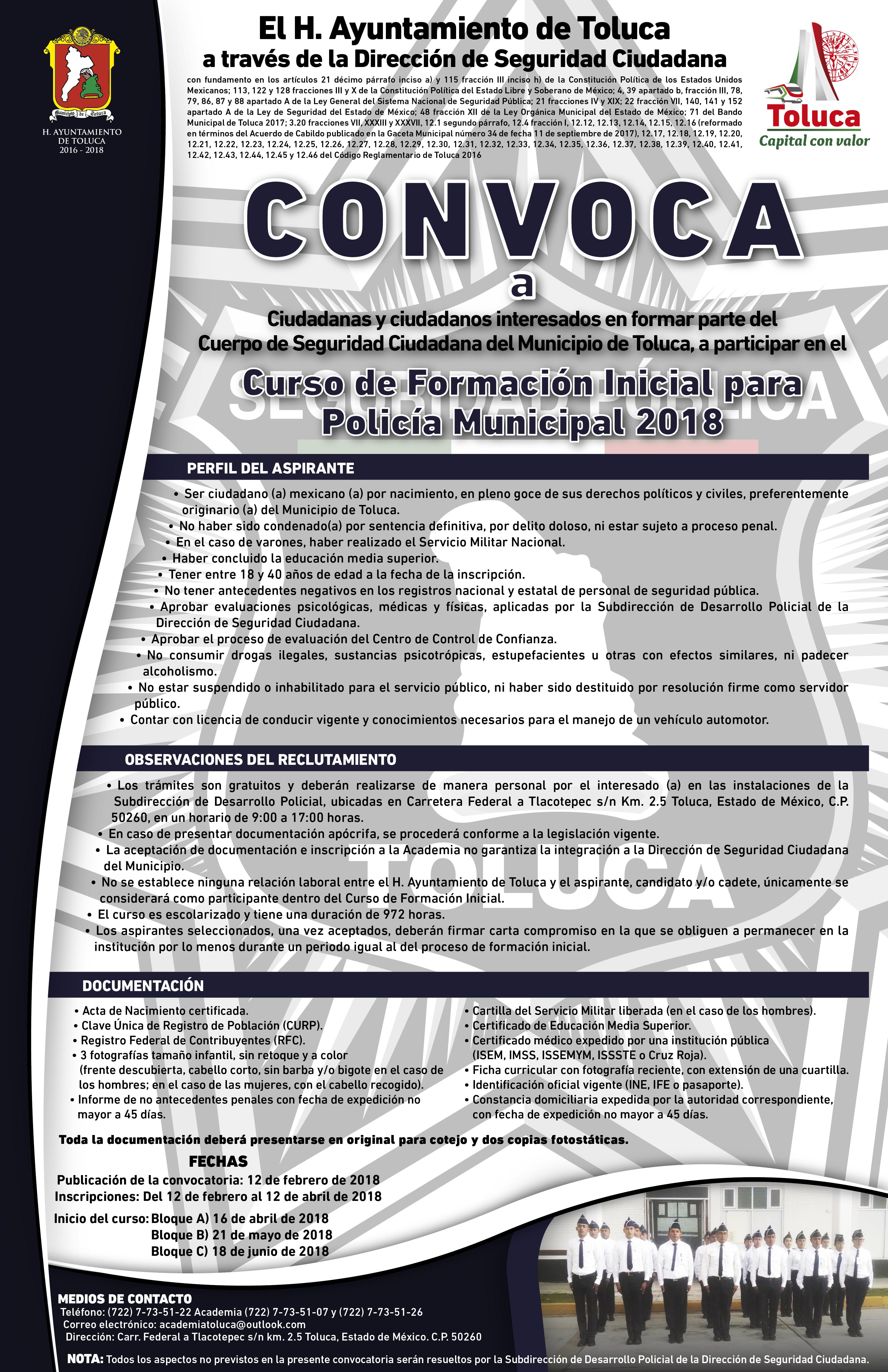 Convocatoria Policias 2018-01