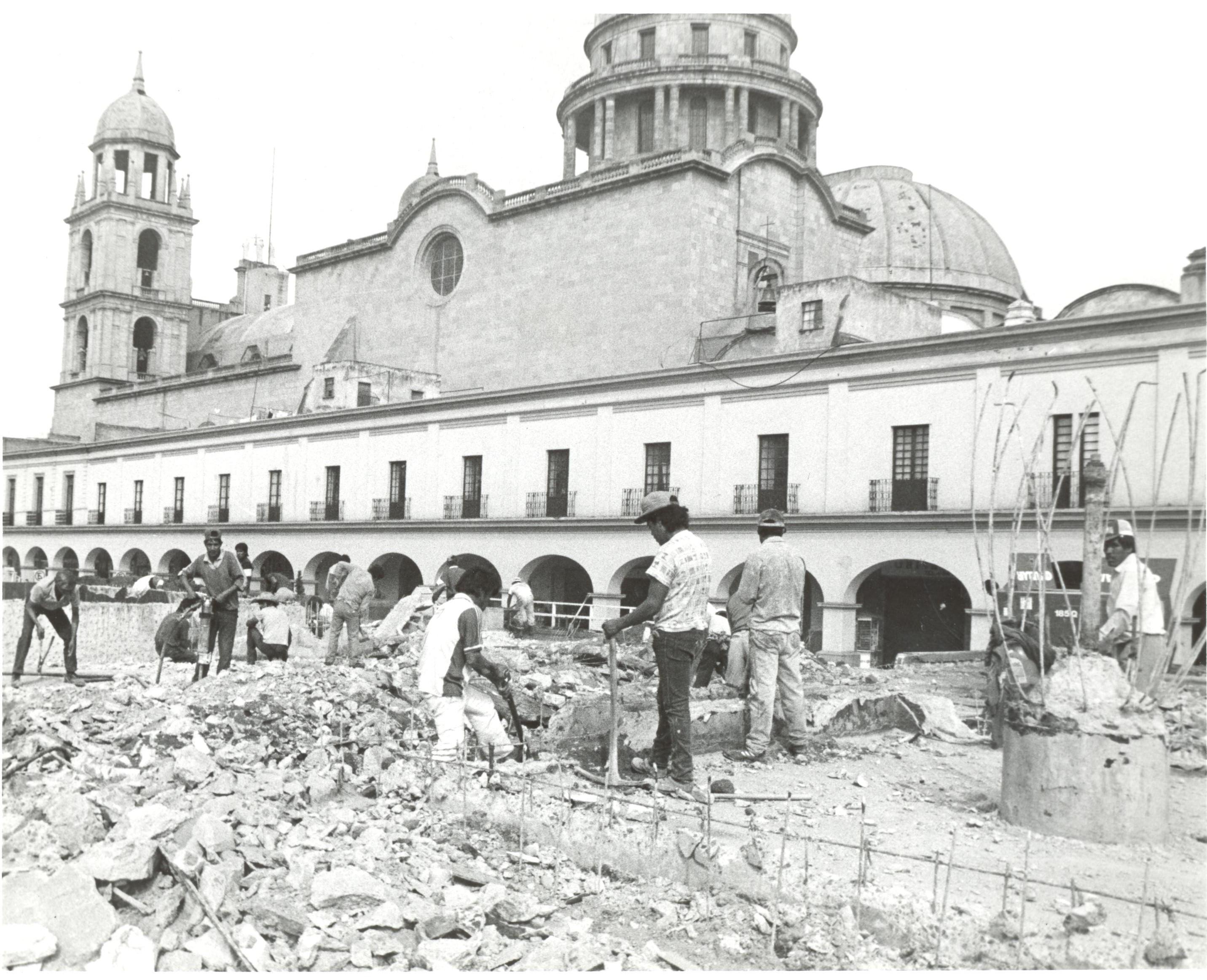 Fotografía remodelación de la plaza González Arratia (2)