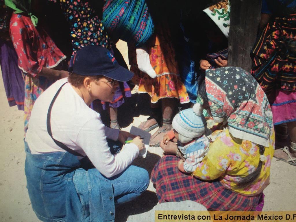 11. Breach inició su carrera periodística en Chihuahua, a mediados de la década del 90. De La Jornada