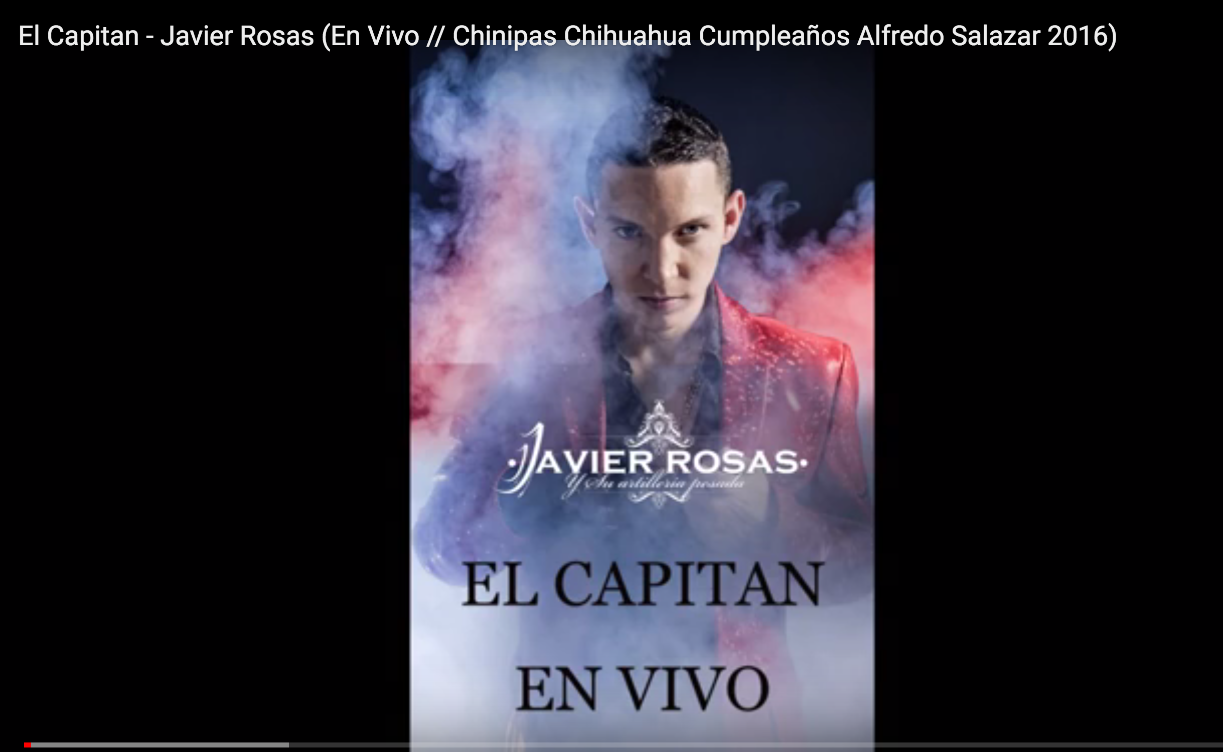 3. Javier Rosas en el cumpleaños de Alfredo Salazar.