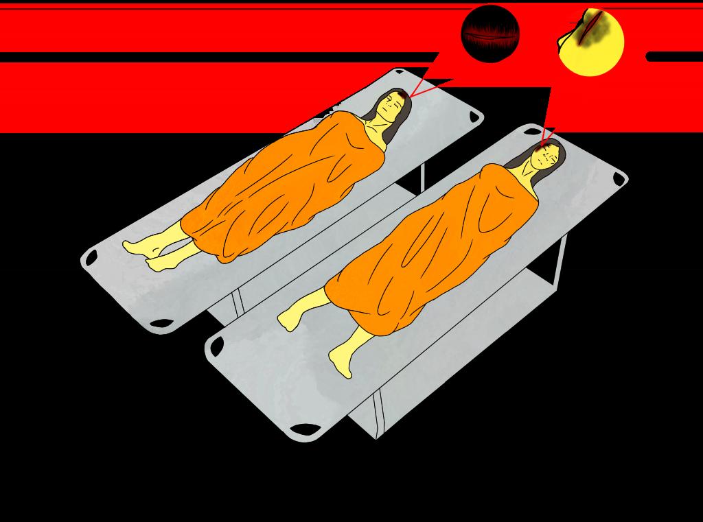 5. Ilustración lesiones de las amigas