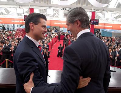 Peña y Del Mazo, foto del PRI