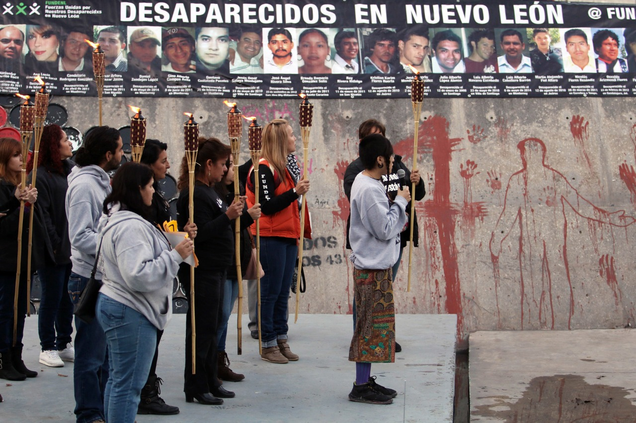 Manifestación foto Víctor Hugo Valdivia